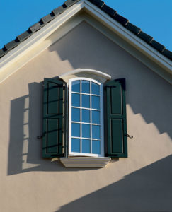 Sierra Pacific Arched Window Aluminum Clad