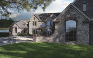 Sierra Pacific Windows stone traditional home
